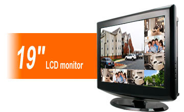 19inch LCD monitor DVR