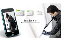 DVR email alarm