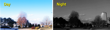 Day & Night Monitoring up to 65ft