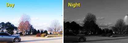 See Day or Night with Infrared Vision