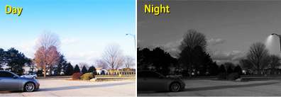 night vision camera system,View at Night up to 80'