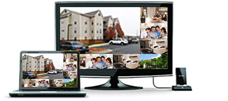 8ch video surveillance system