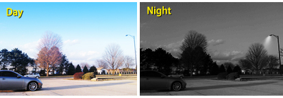 infrared outdoor camera works great both night and day