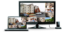 view what you care about most via this cctv camera system