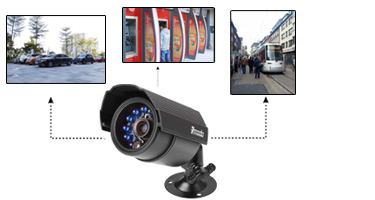 this security camera kit is good for outdoor use