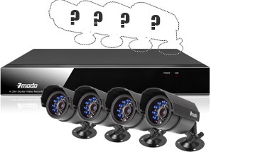 can add 4 more cameras to this dvr