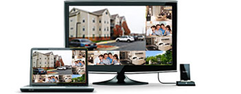 4 channel security camera systems ,Easy to Install ,Plug-N-Play
