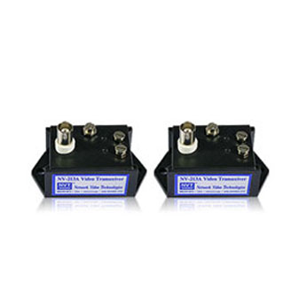 1 Pair of Port Passive Twisted-Pair Video Balun Transceivers for Surveillance Cameras (pair)