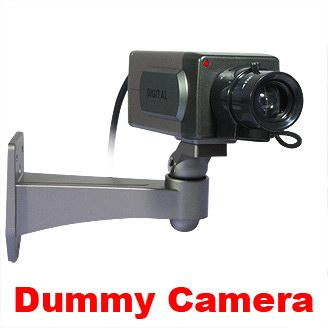 Indoor Realistic Dummy Pan Movement CCTV Security Camera