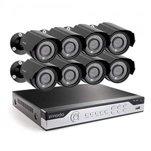 Zmodo 8CH H.264 960H DVR Security System 1TB HDD with 8 700TVL Camera