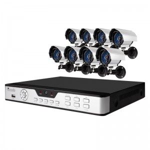 8CH H.264 DVR & 8 Sony CCD 420TVL 65ft Night Vision Outdoor Security Cameras