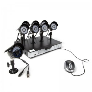 Zmodo 8CH 600TVL Weatherproof  CCD Security Camera System w/ 1TB HDD