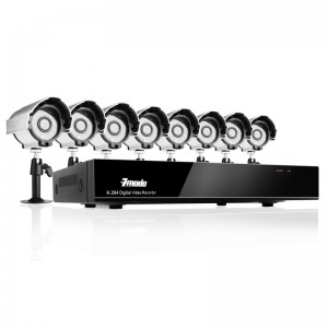 8CH H.264 DVR with 500GB HDD & 8 Sony CCD 420TVL 24 IR LEDs Outdoor Security Cameras