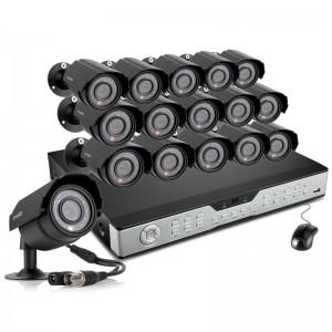 Zmodo 16CH Video Surveillance System 1TB HDD & 16 600TVL IR Cameras