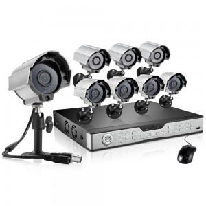 Zmodo 16CH Complete Surveillance System 1TB HDD & 8 600TVL IR Cameras