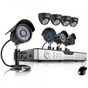 Zmodo 16CH Video Security System w/ 1TB HDD & 8 600TVL Outdoor Camera