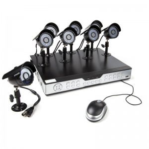 Zmodo 16CH Complete Security System w/ 1TB HDD 8 600TVL CCD Cameras