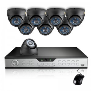 Zmodo 16CH Security DVR System w/ 1TB HDD & 8 600TVL Sony CCD Cameras