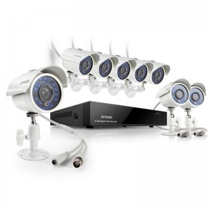 Zmodo 8CH 960H Home Security System & 8 700TVL Outdoor Cameras
