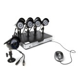 Zmodo 8CH Outdoor Surveillance System & 8 600TVL Sony CCD IR Cameras