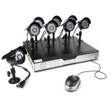 Zmodo 16CH DVR Security System & 8 600TVL Sony CCD IR Security Cameras
