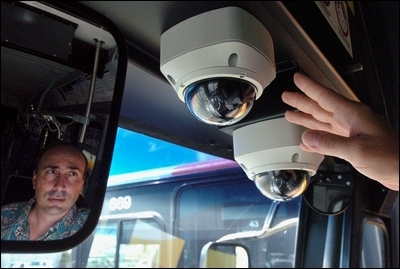 onboard security cameras