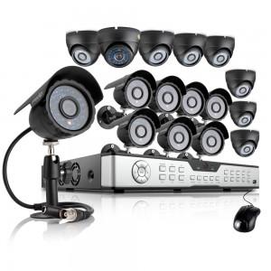 Zmodo 16CH DVR Security System & 16 600TVL Outdoor Day Night Cameras