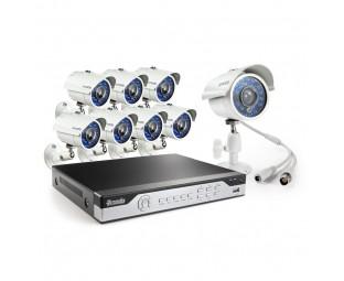 Zmodo 8CH H.264 960H DVR Security System 500GB HDD with 8 700TVL Camera